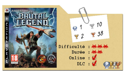 Guide Brutal Legend