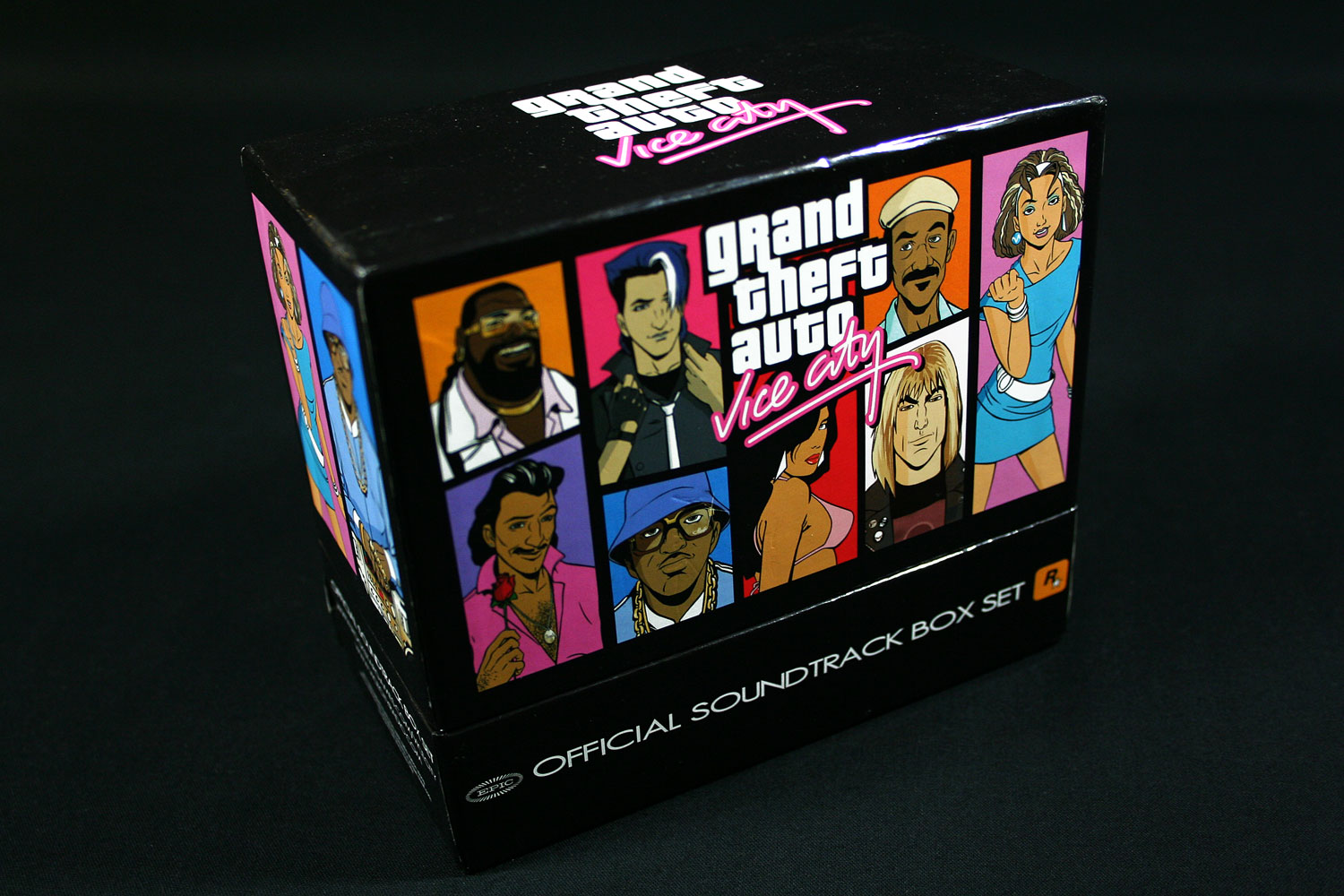 GTA Vice City Soundtrack (Official CD Box Set)