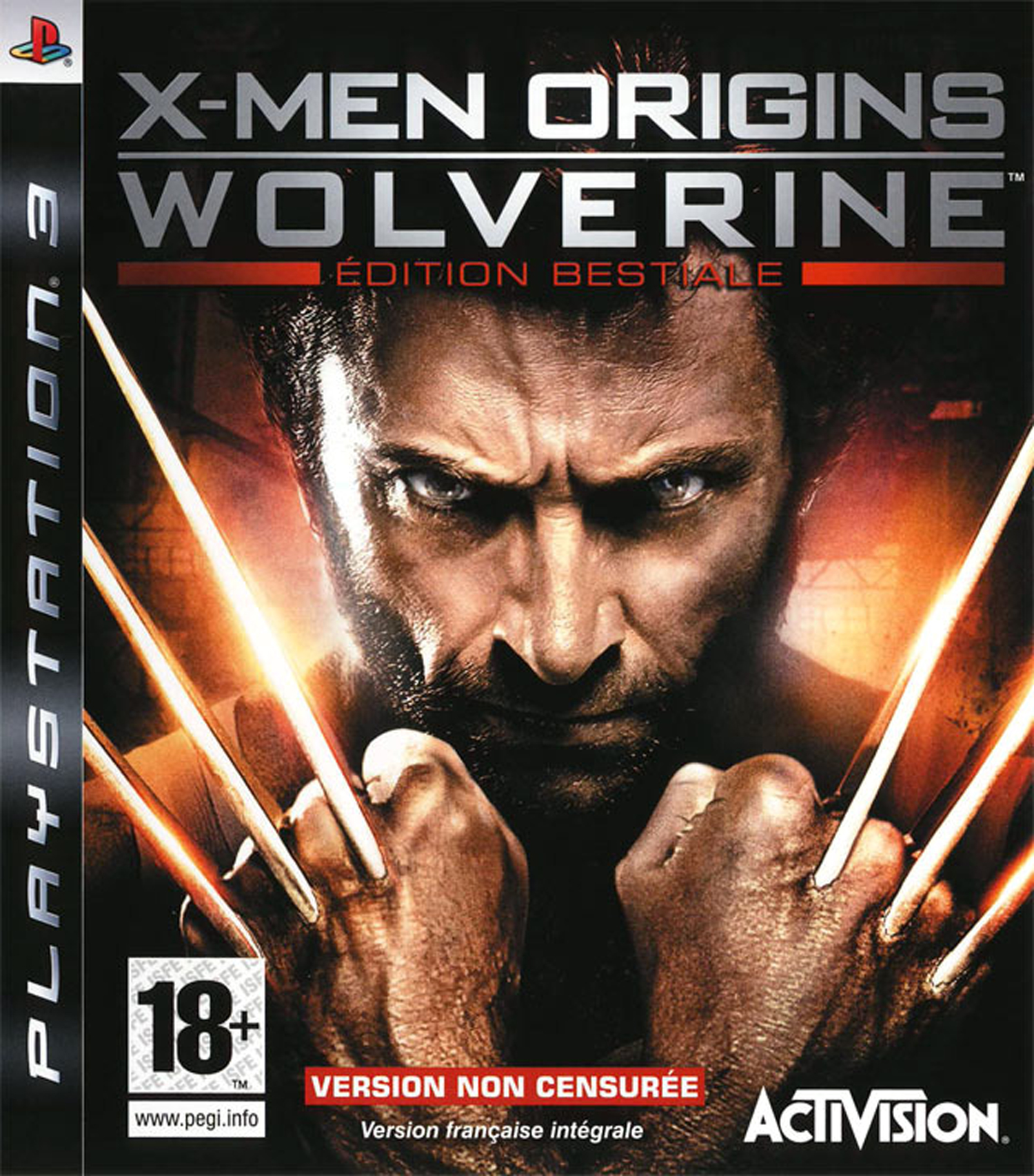 X-Men Origins Wolverine (PS3)