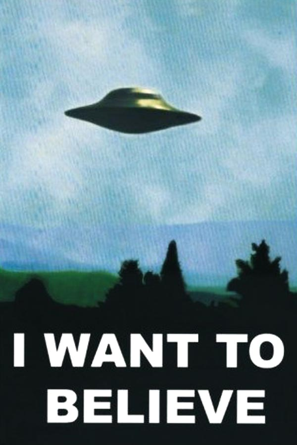 "[Achat] Poster ""I want to believe"""